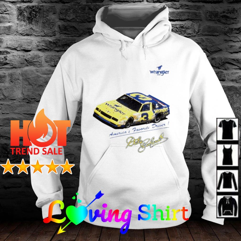 Wrangler America's Favorite Driver signature s hoodie