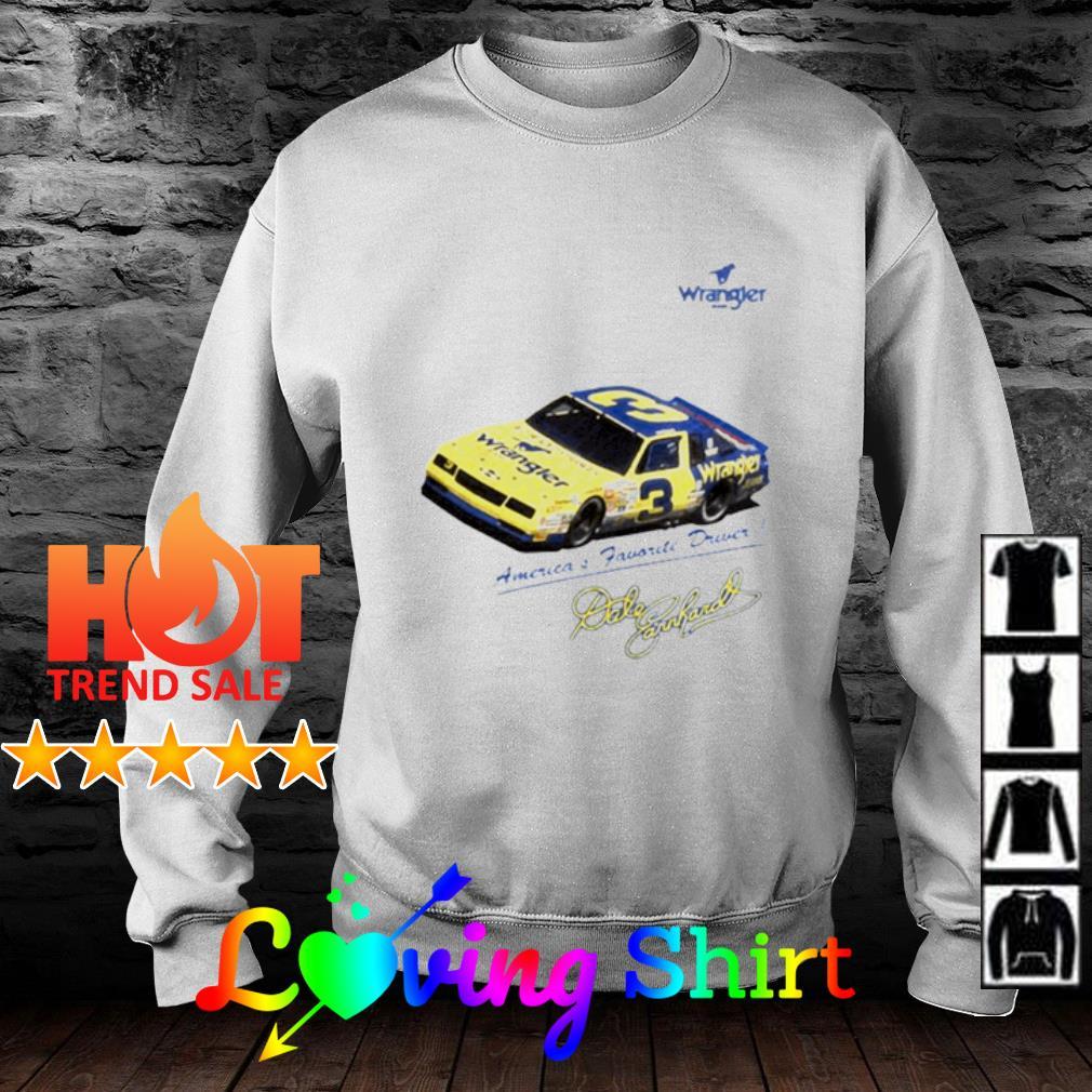 Wrangler America's Favorite Driver signature s sweater