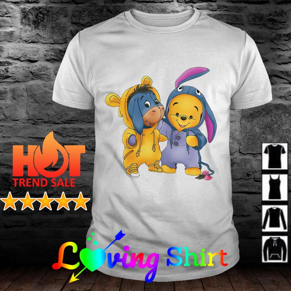 Baby Pooh and Eeyore Winnie the Pooh shirt