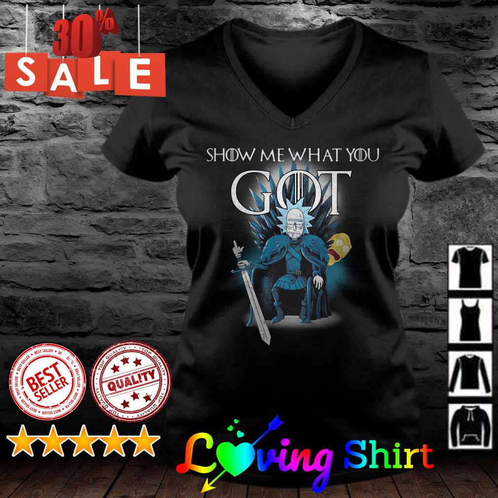 Game of Thrones Show me what you got Rick shirt
