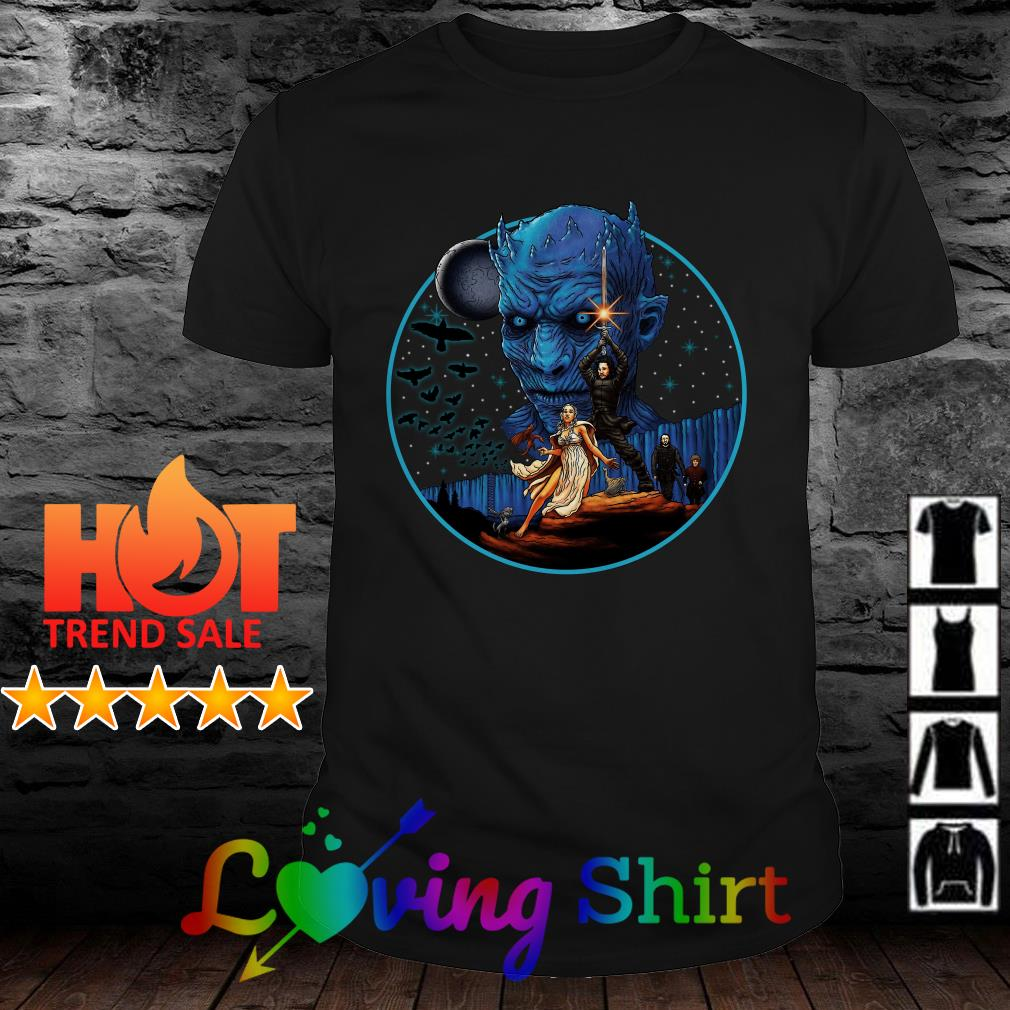 Game of Thrones Star Wars Combo shirt