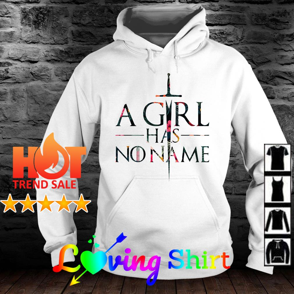 Game of Thrones a girl has no name flower shirt