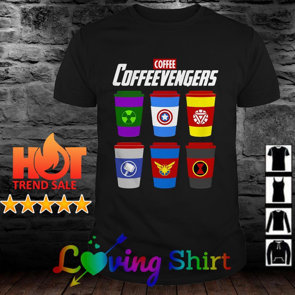 Marvel Avengers Endgame coffee Coffeevengers shirt