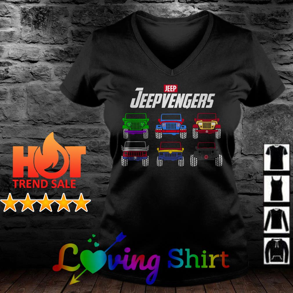 Marvel Avengers Endgame Jeep Jeepvengers shirt