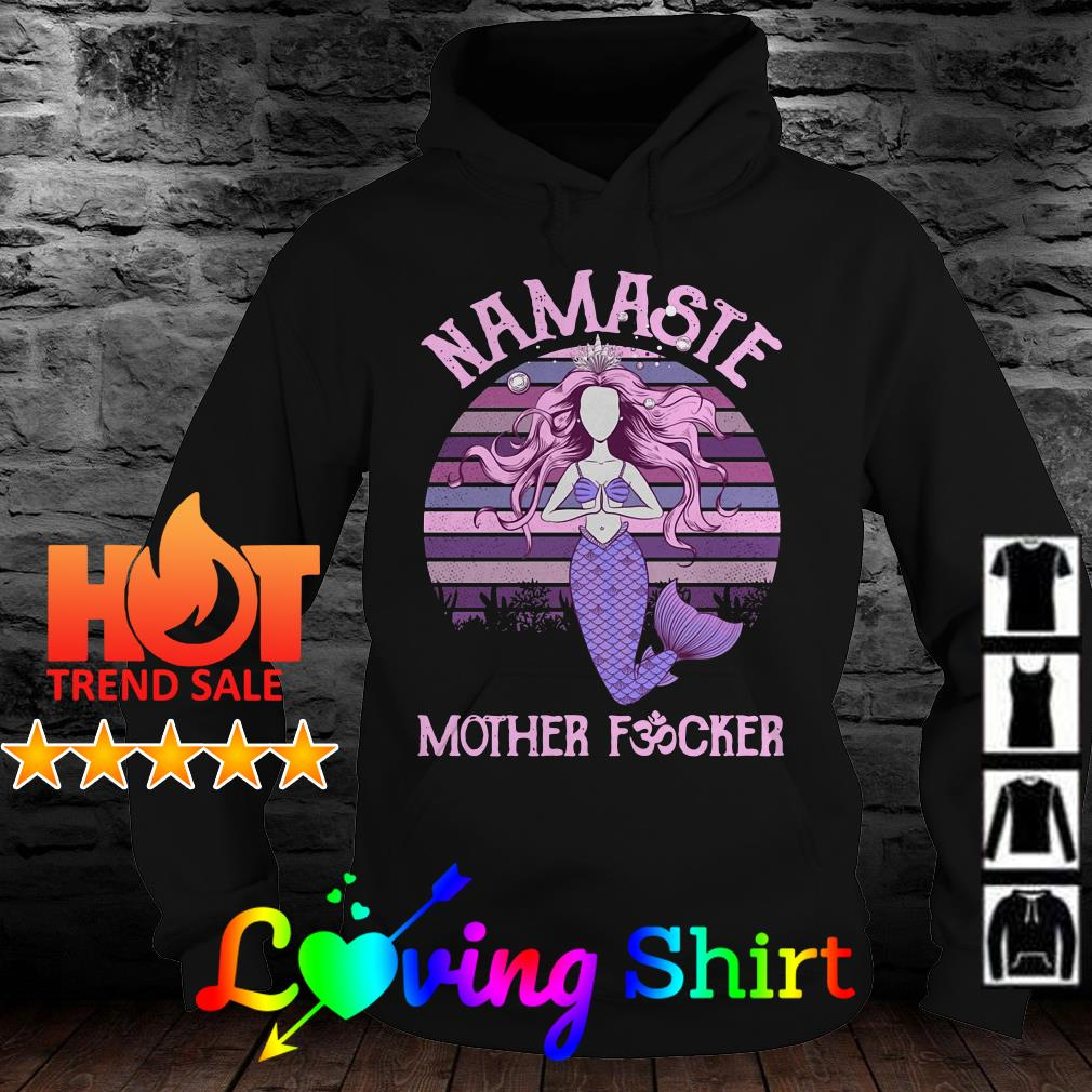 Namaste Mermaid Mother Fvcker vintage shirt