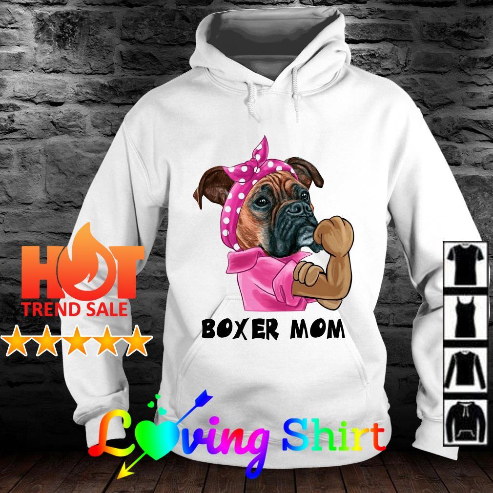 Official Dog Boxer mom shirt