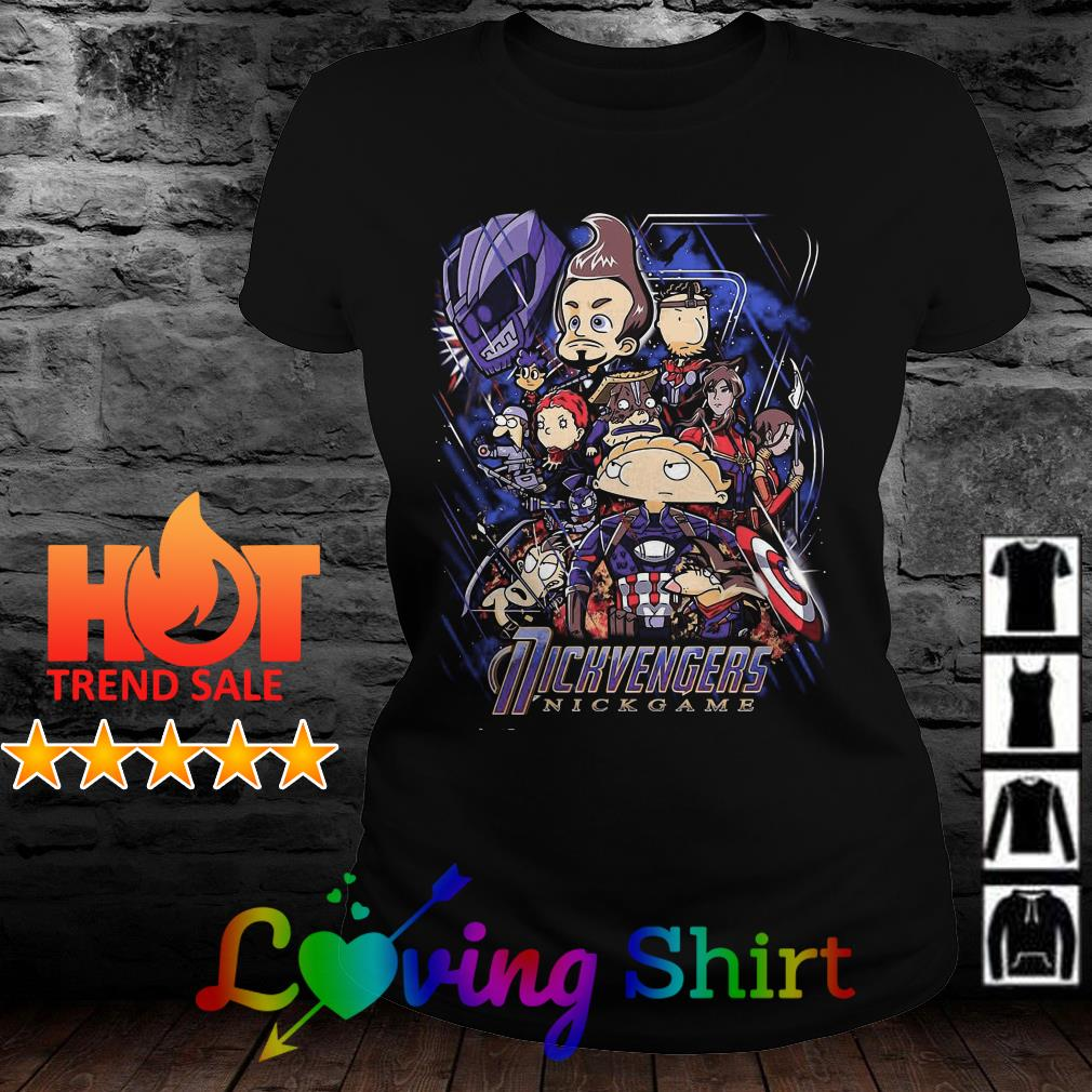 Rickvengers nick game Marvel Endgame shirt