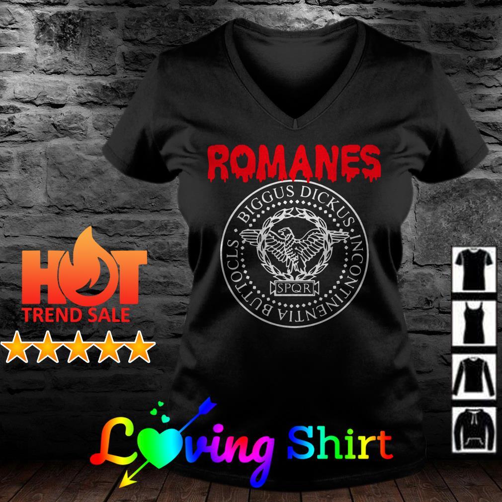 Romanes Biggus Dickus Incontinentia Buttocks SPQR shirt