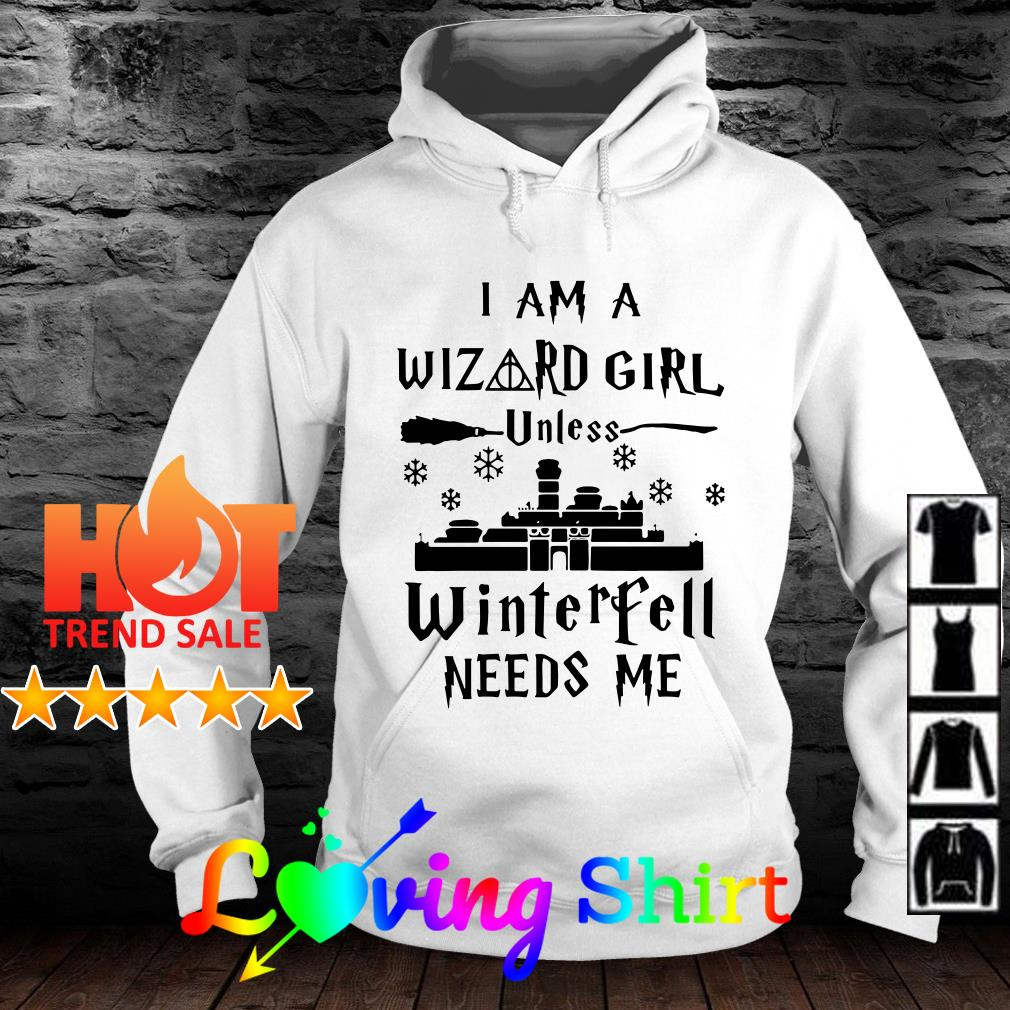 I am a Wizard girl unless Avengers need me shirt