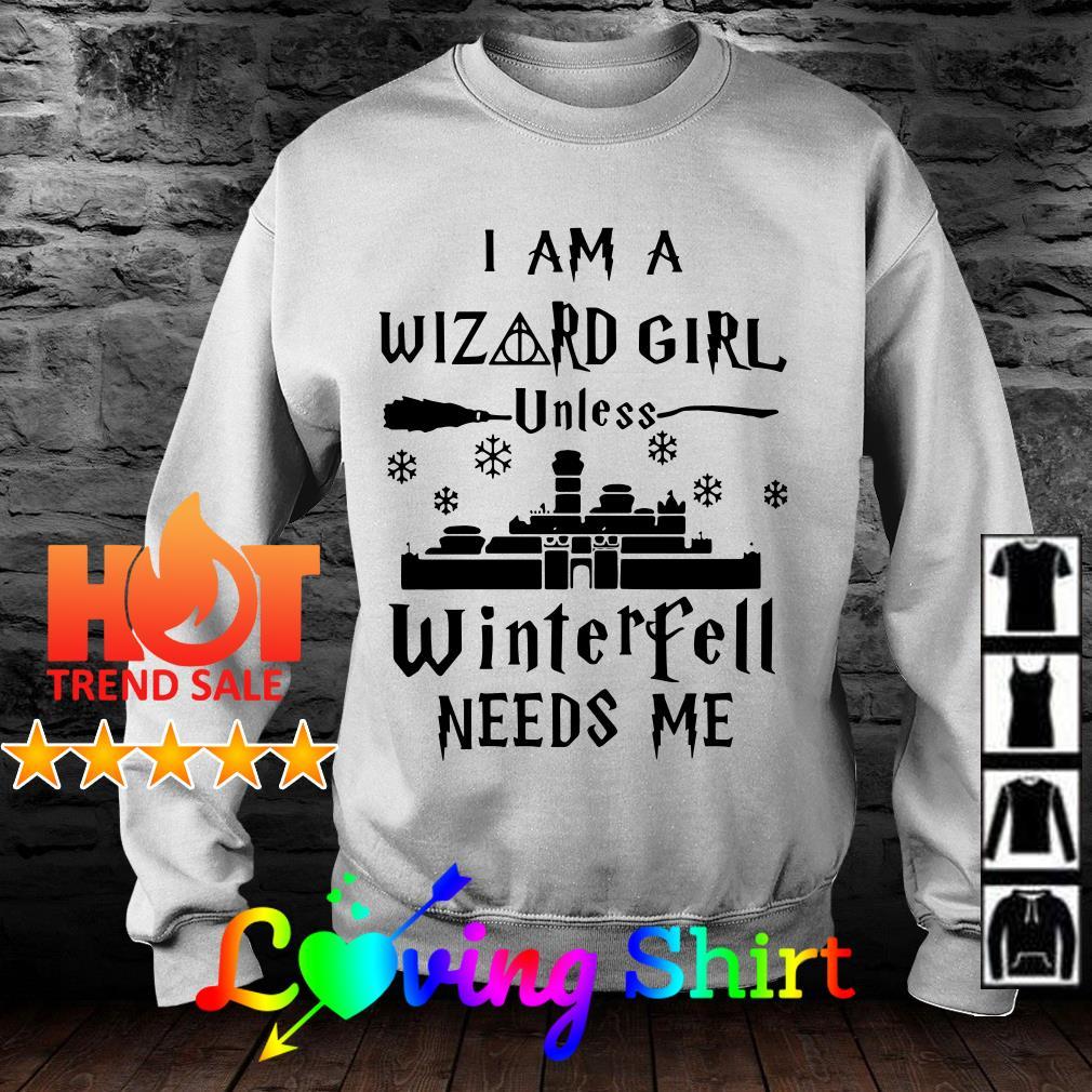 I am a Wizard girl unless Avengers need me shirt