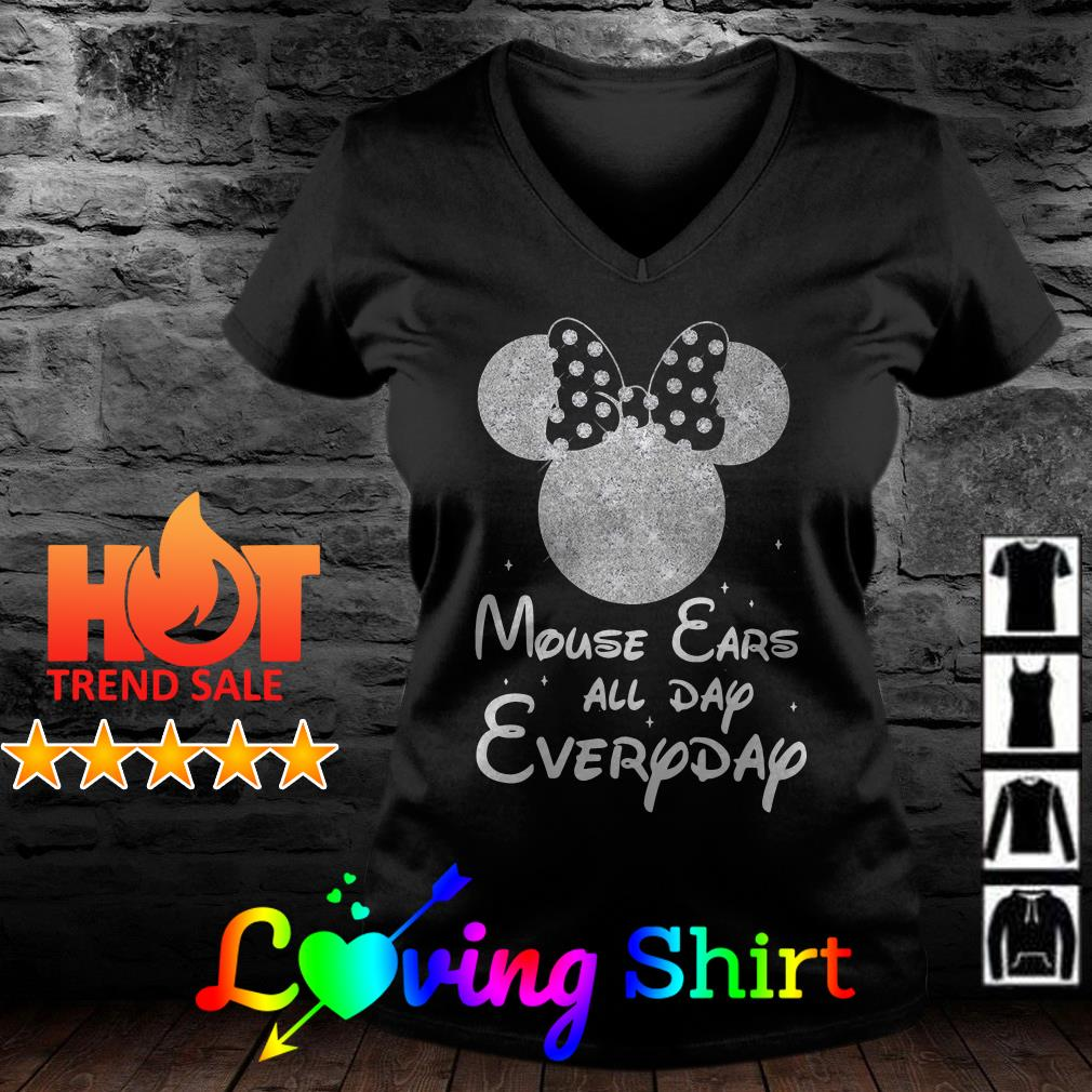 Diamond mouse ears all day everyday shirt