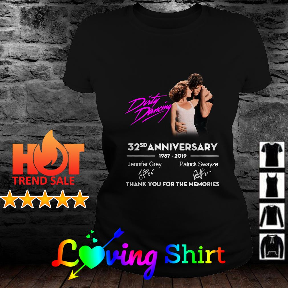 Dirty Dancing 32nd anniversary 1987-2019 signatures shirt