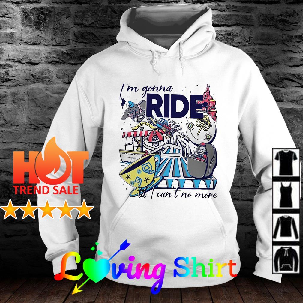 I'm gonna ride till I can't no more Cartoon shirt