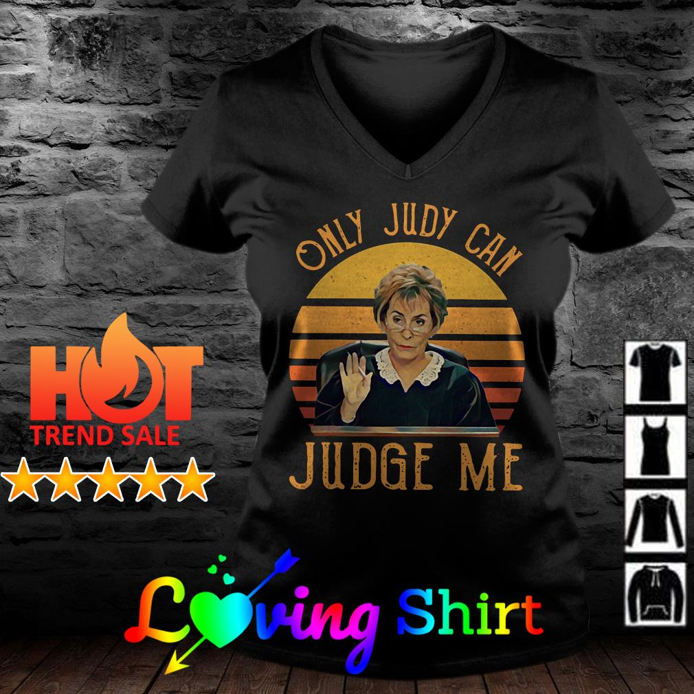 Only Judy can Judge me vintage shirt