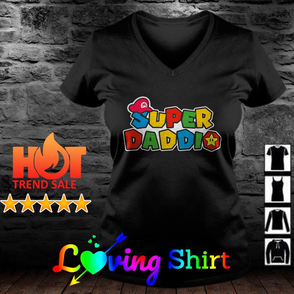 Mario Super daddio shirt