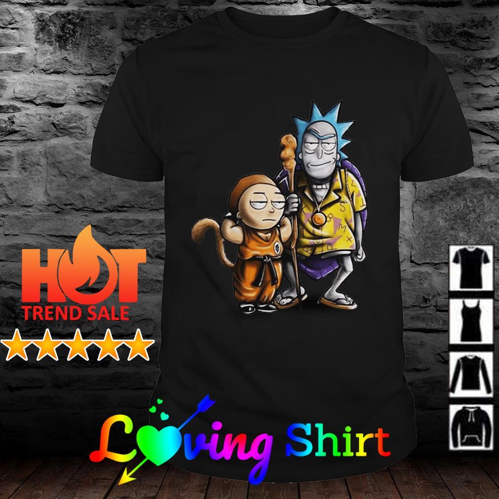 Rick and Morty, Son Goku and Master Roshi shirt