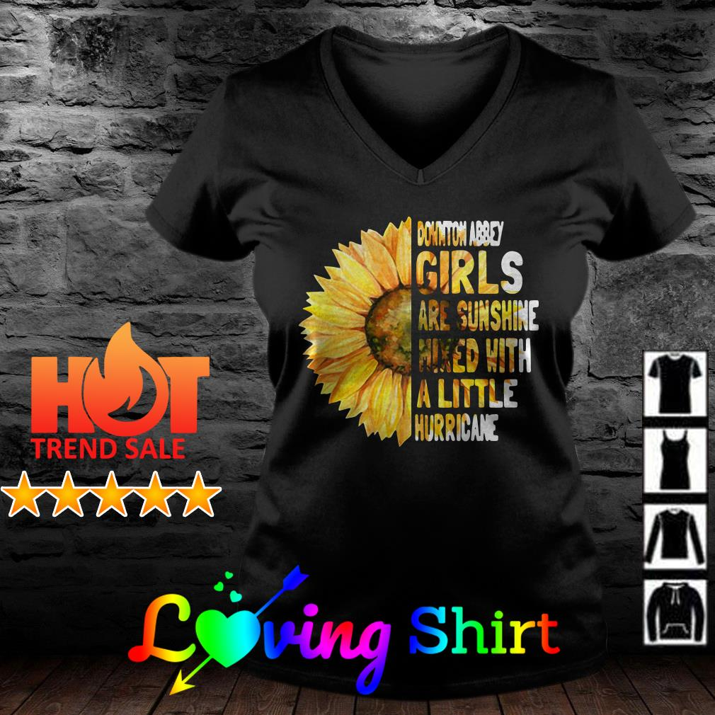 Sunflower Downton abbey are sunshine mixed with a little hurricane shirt