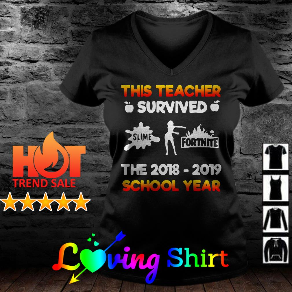 This teacher survived the 2018 2019 school year shirt