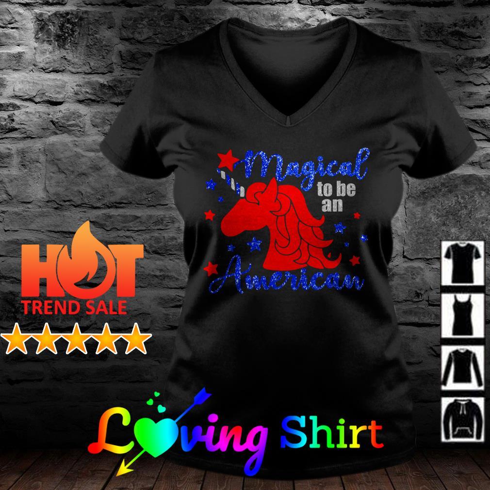 Unicorn Magical to be an American shirt