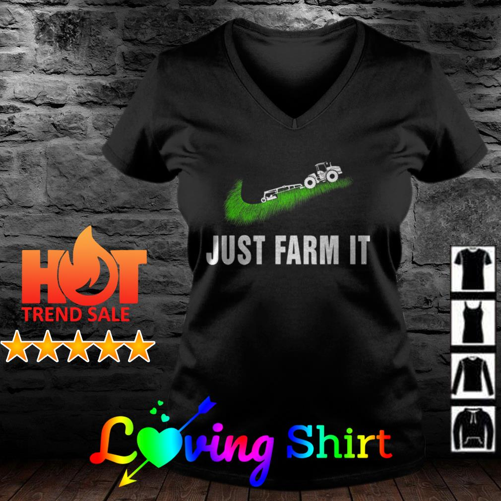 Just Farms It Agriculture courses Nike Logo shirt
