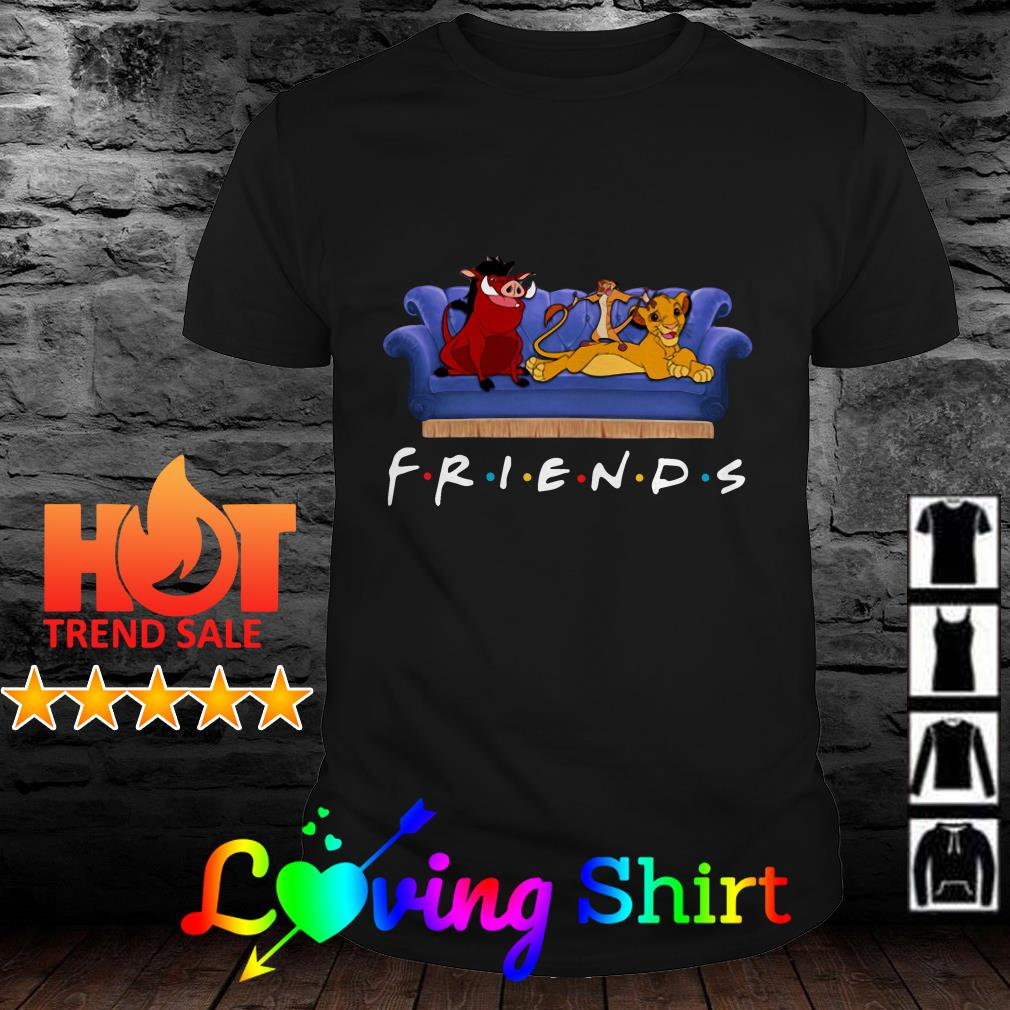 Simba Friends Timon Pumbaa The Lion King shirt