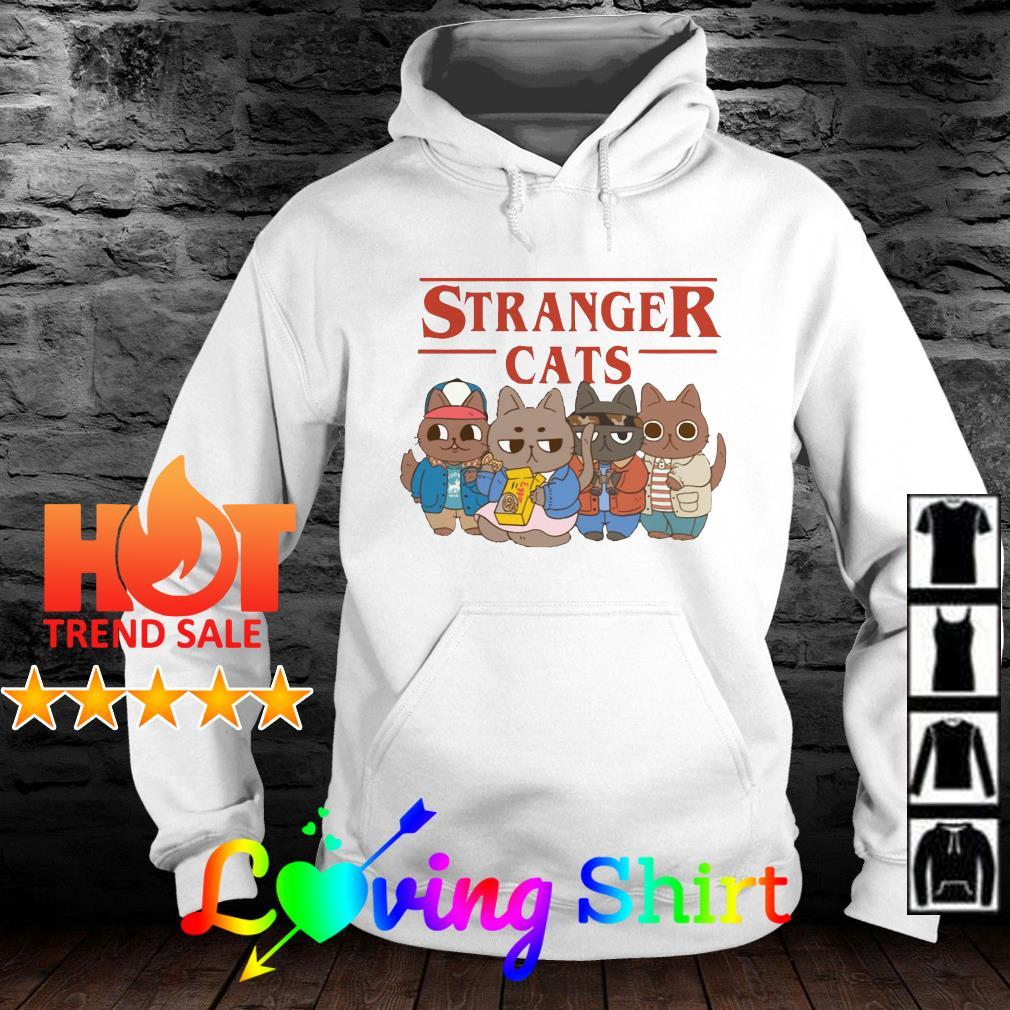 Stranger Things Stranger cats shirt