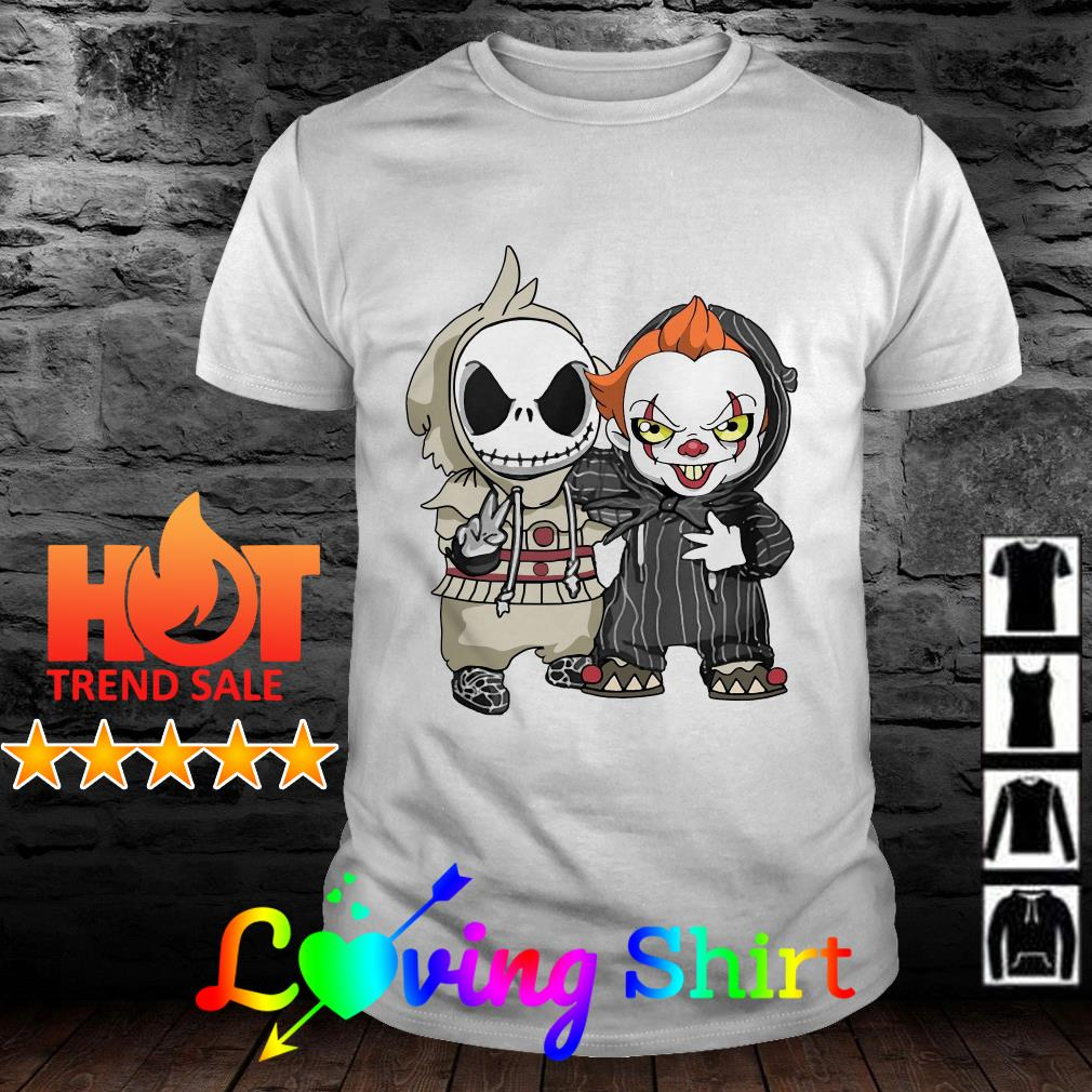 Baby Jack Skellington and Pennywise Shirt