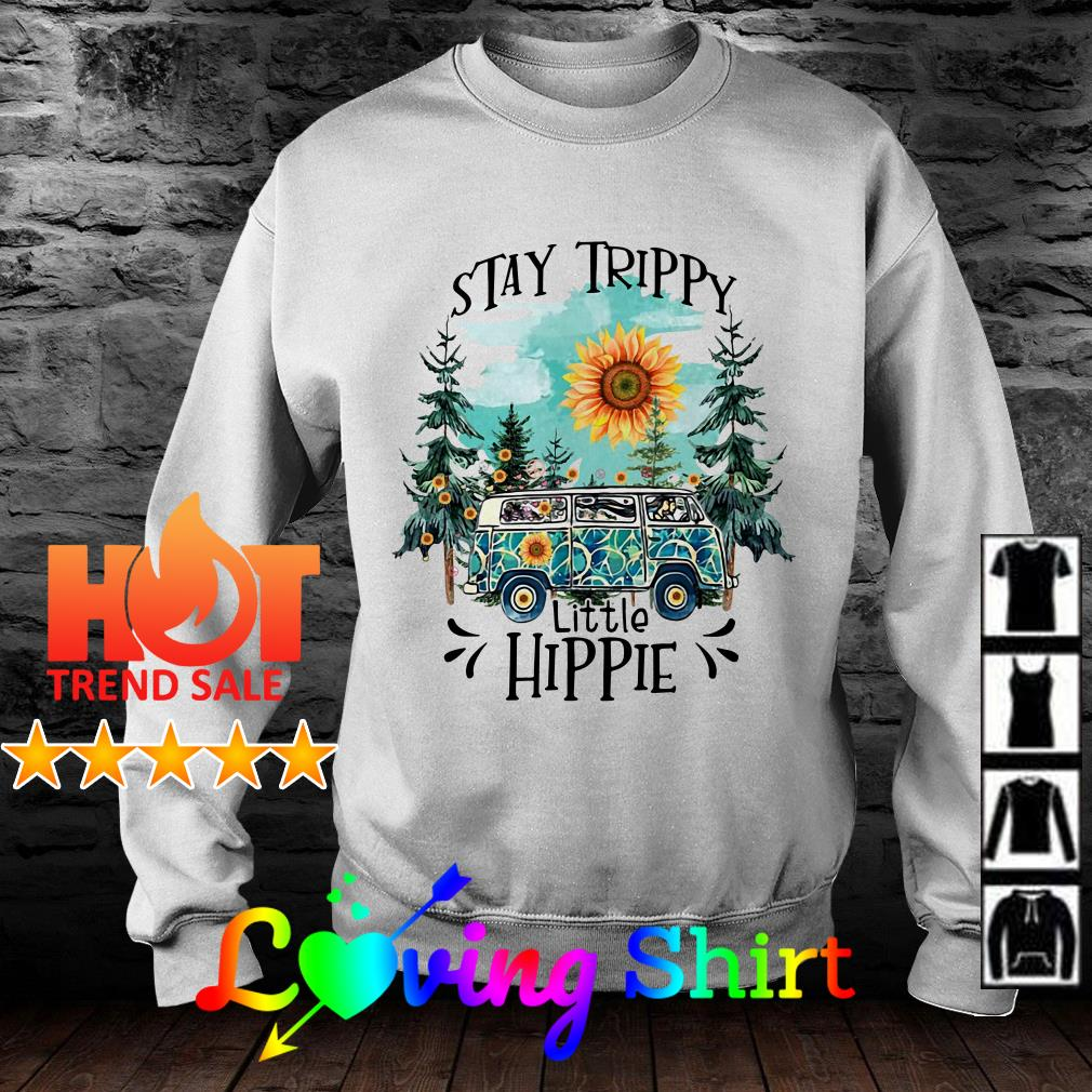 Camping Stay trippy sunflower little hippie shirt