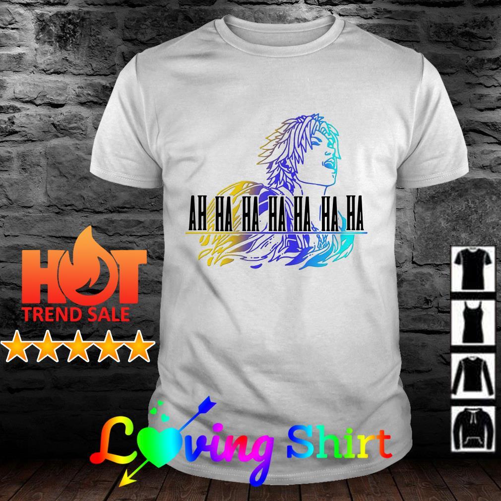 Final Fantasy Tidus ah ha ha ha shirt