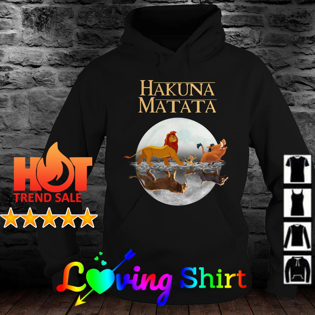 Hakuna Matata The Lion King Simba Pumbaa And Timon shirt