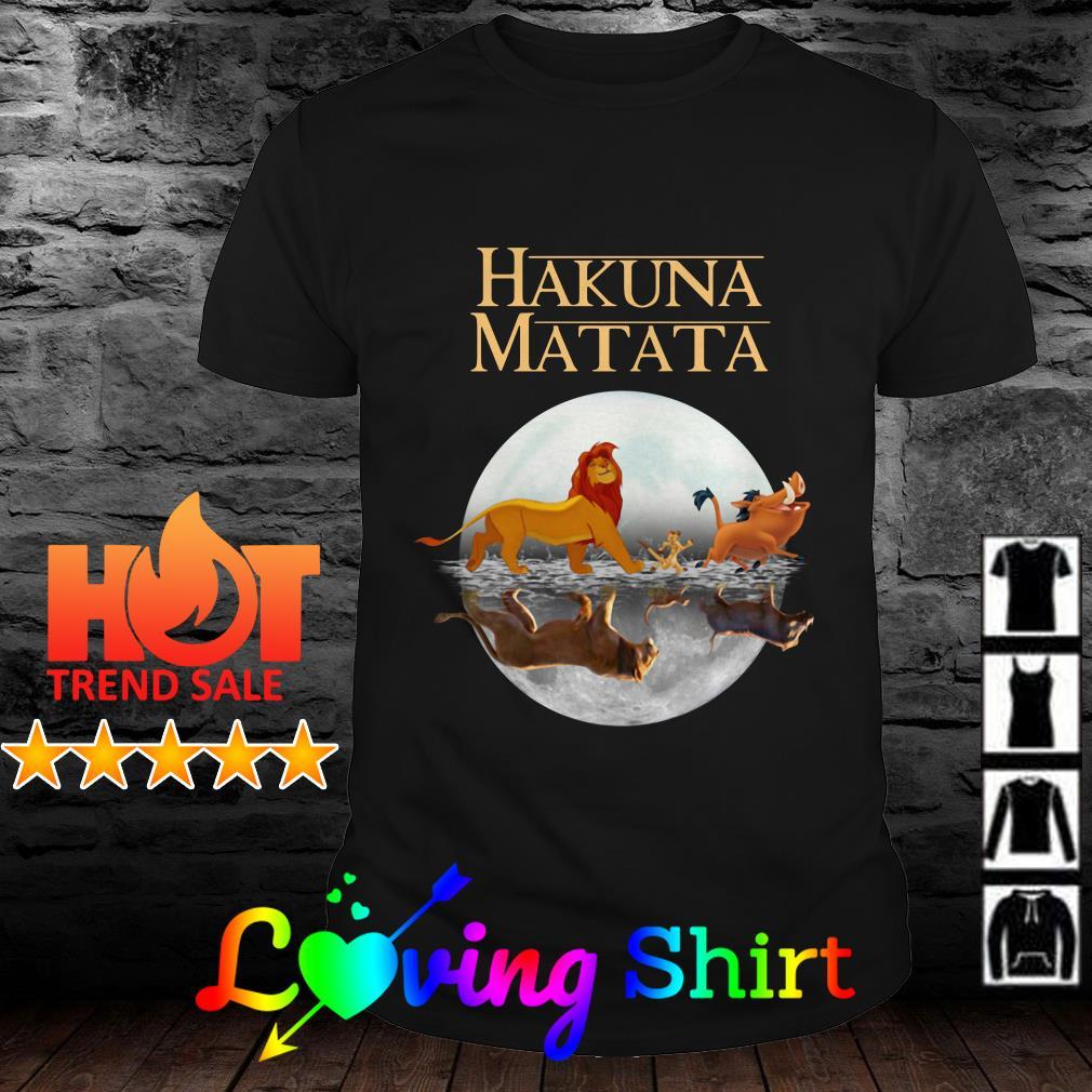 Hakuna Matata The Lion King Simba Pumbaa And Timon shirt