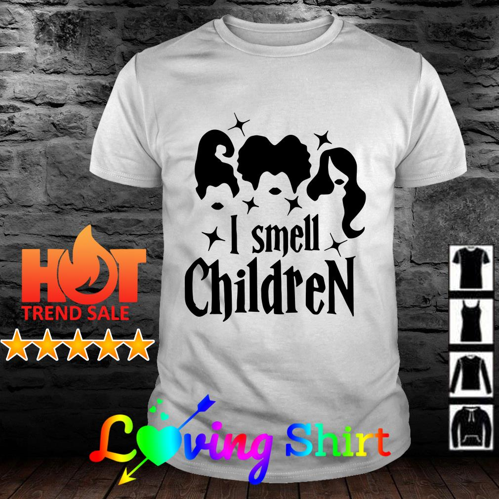 Hocus Pocus I Smell Children Halloween shirt