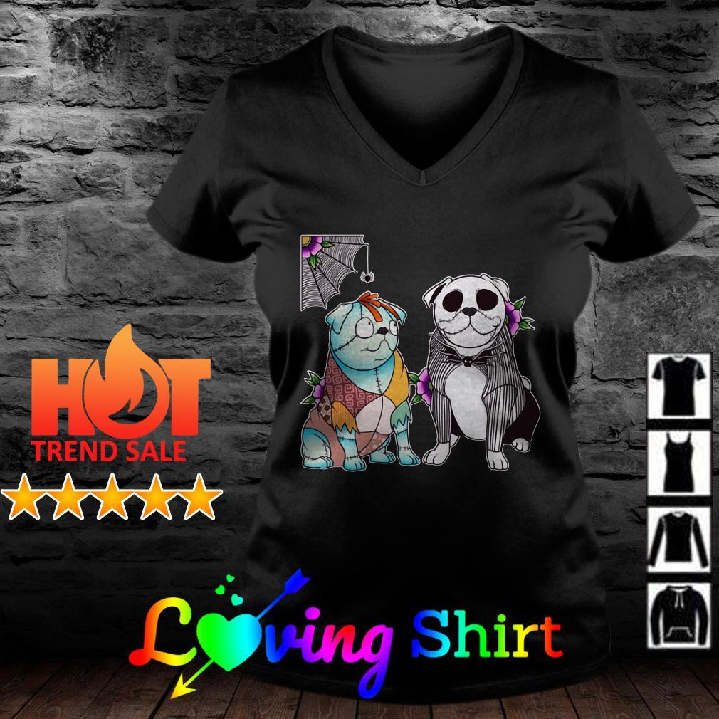 Jack Skellington and Sally dogs Halloween shirt