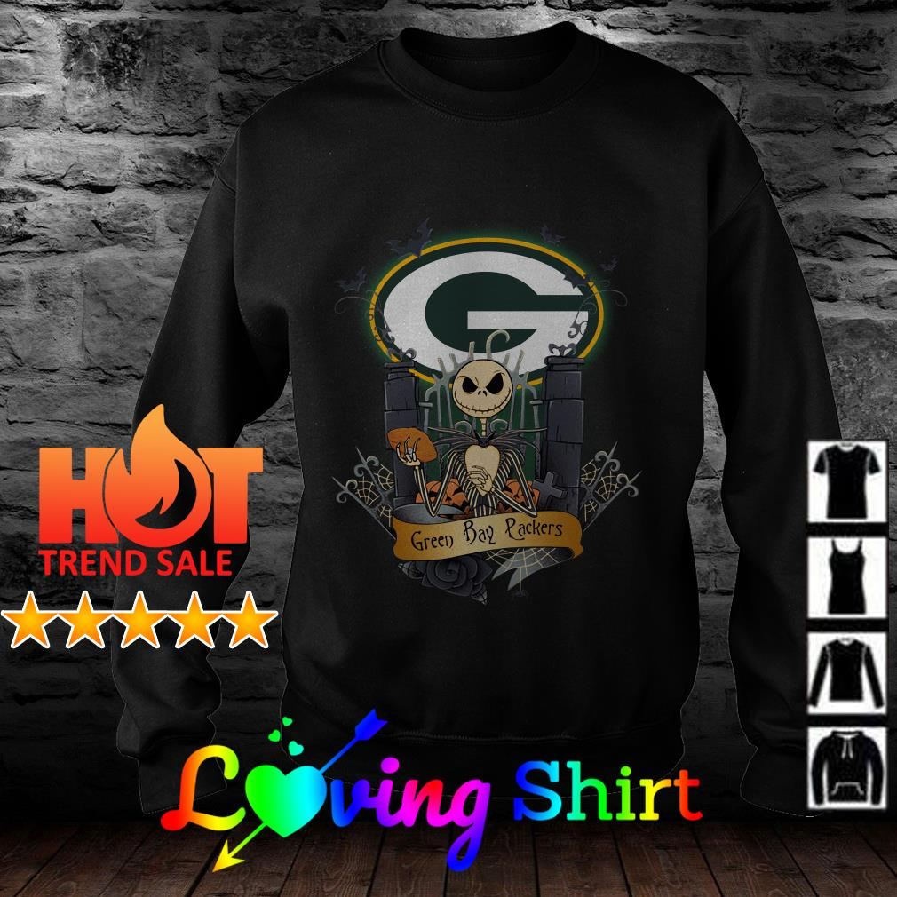Jack Skellington Green Bay Packers shirt
