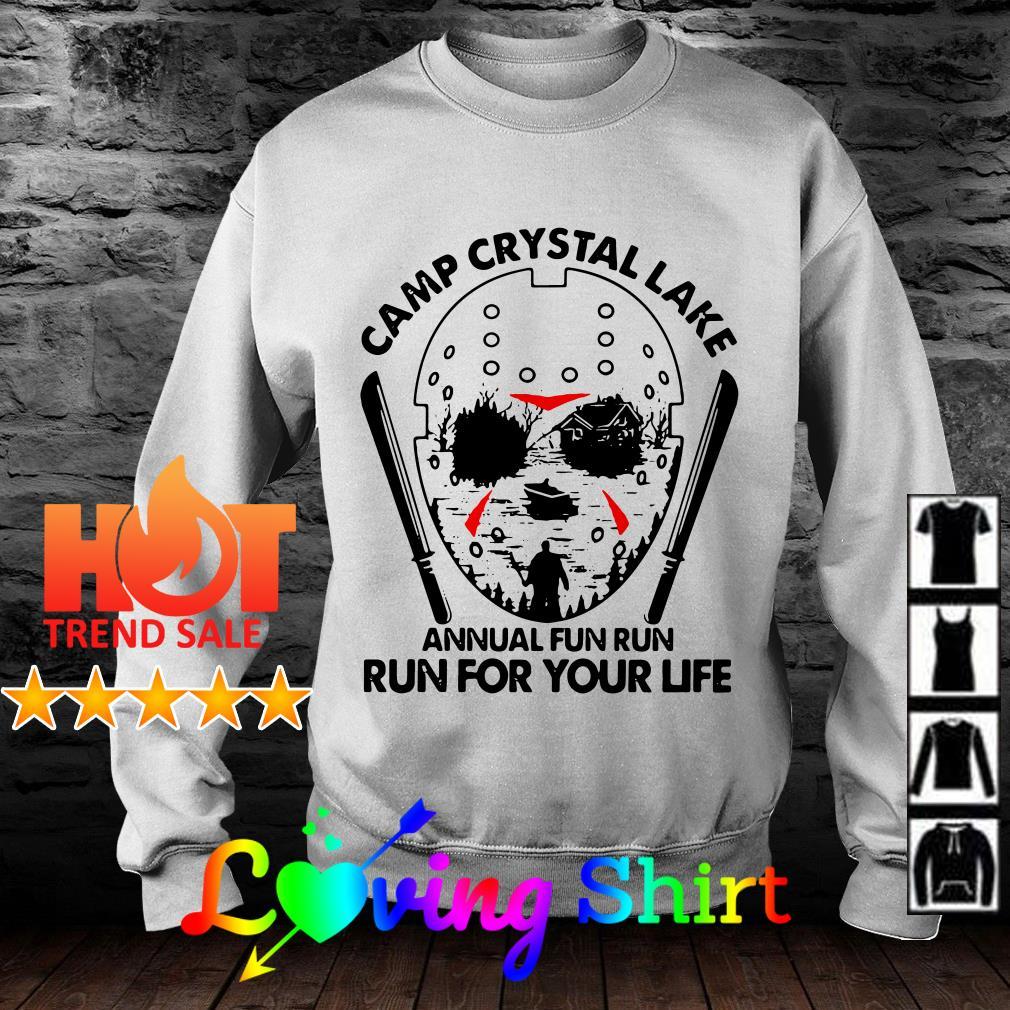 Jason Voorhees Camp crystal lake annual fun run run for your life shirt