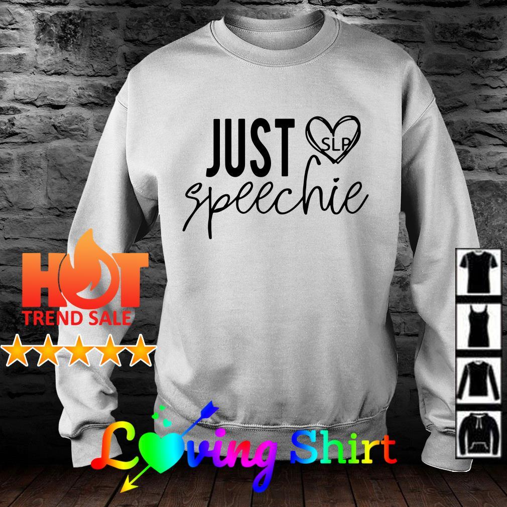 Just speech SLP shirt