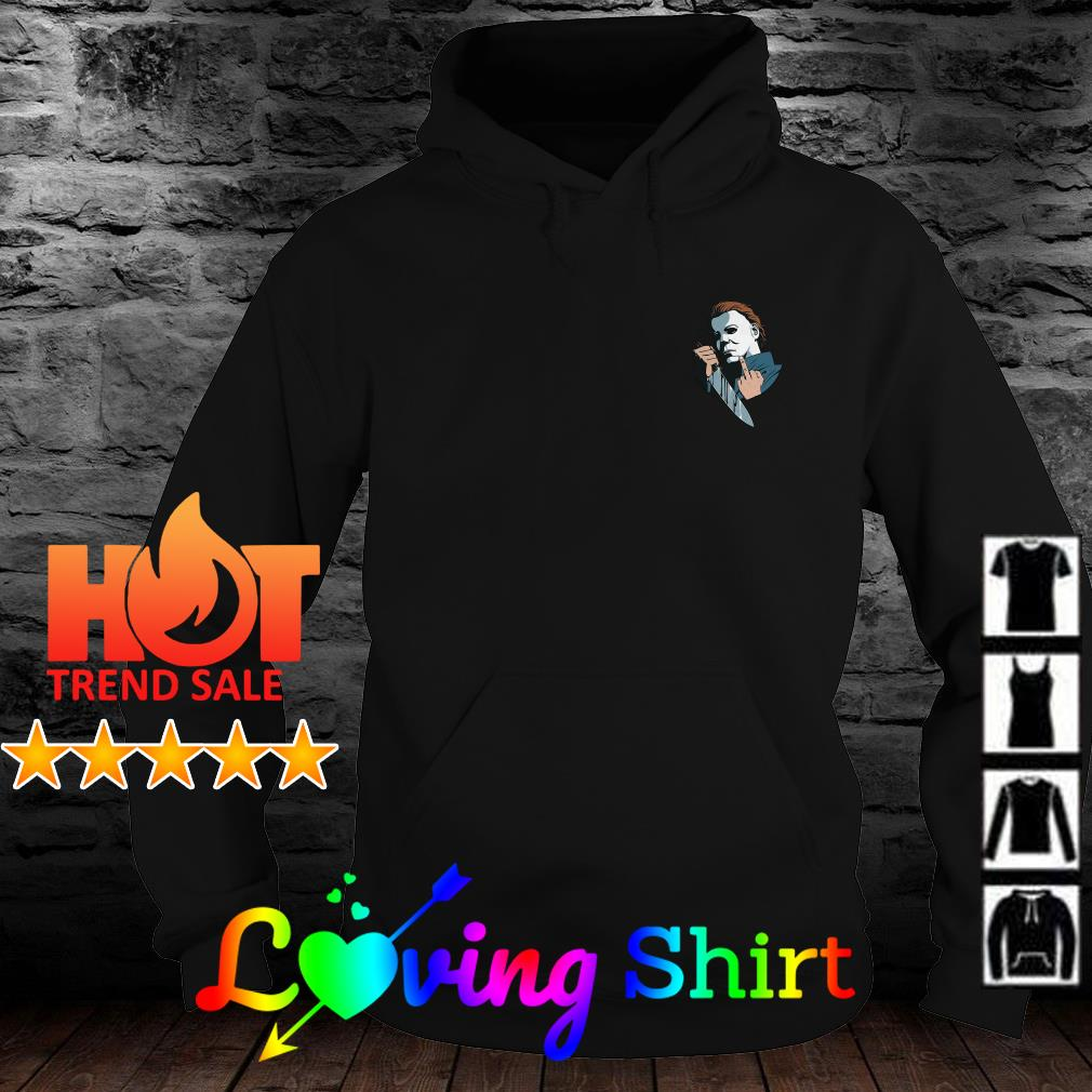 Michael Myers in the pocket shirt