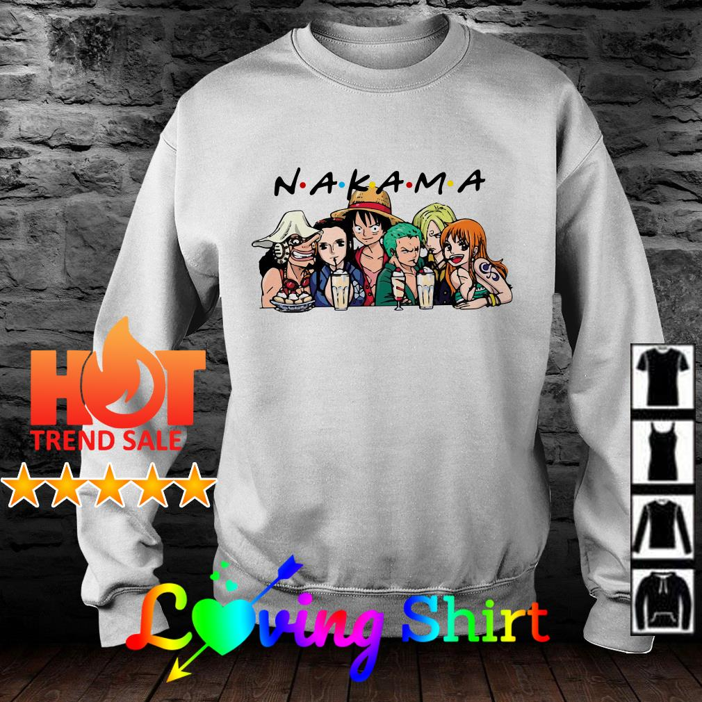 Nakama One Piece characters Friends shirt