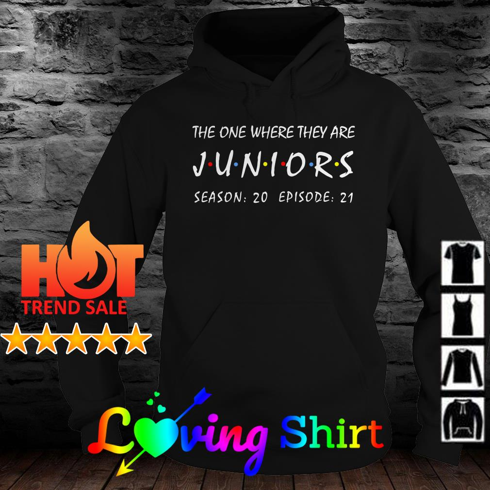 The one where they are Juniors season 20 episode 21 shirt