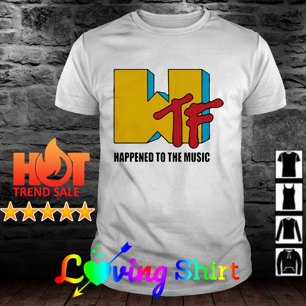 WTF happened to the music shirt
