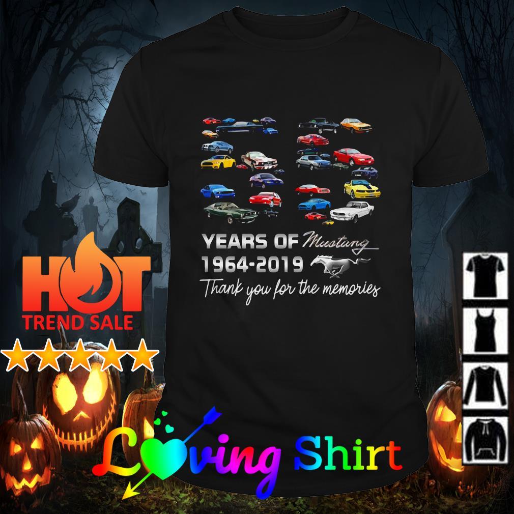 55 Years of Mustang Celebration shirt