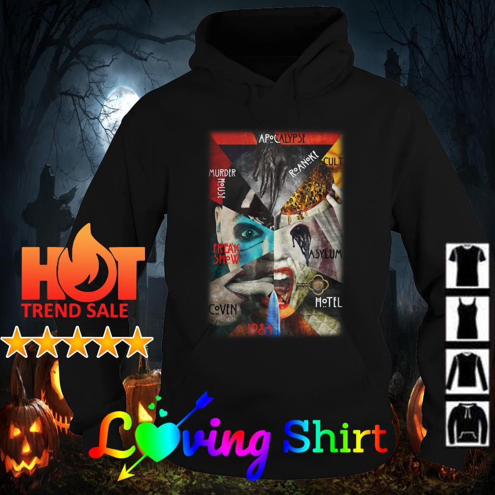 Apocalypse murder house speak show coven AHS 1984 shirt
