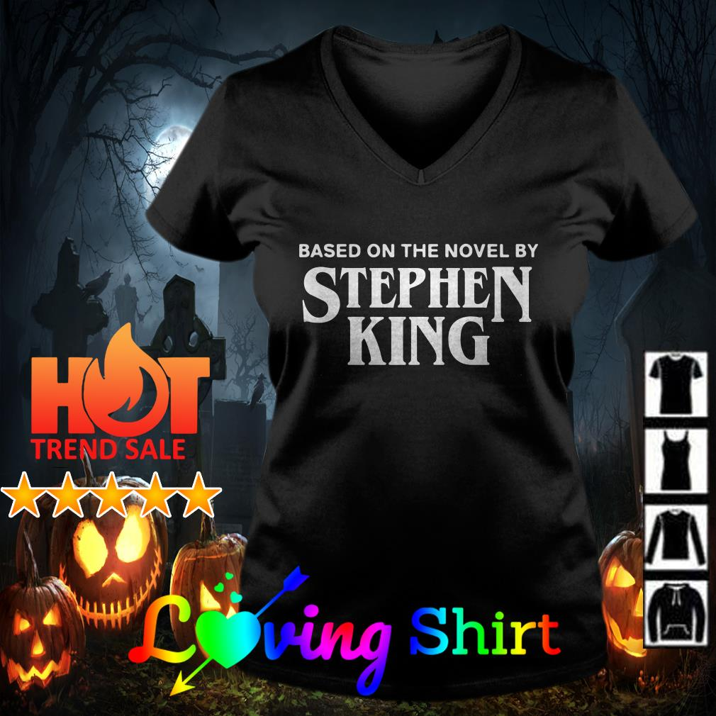 Based on the novel by Stephen king shirt