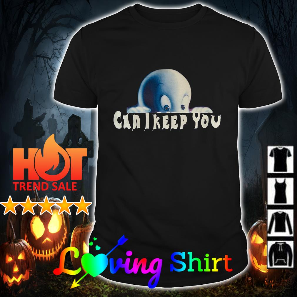 Casper can I keep you shirt