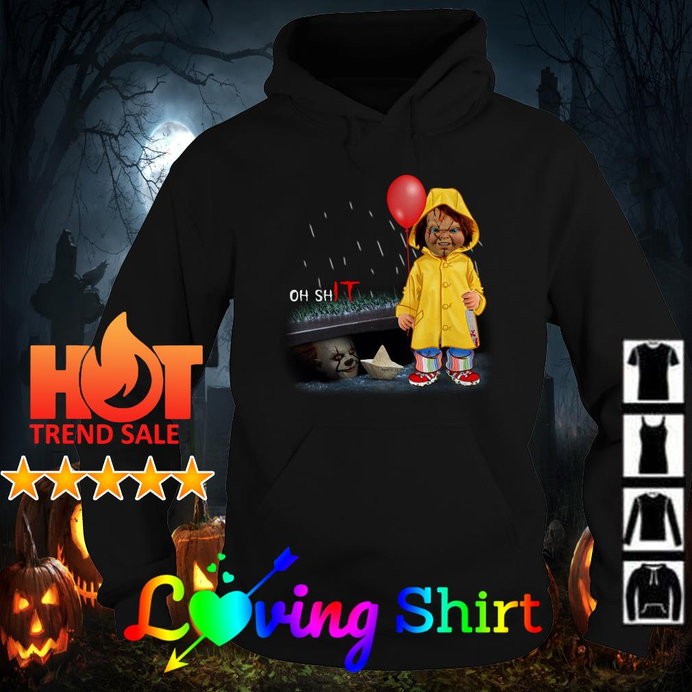 Chucky Georgie Denbrough oh shit Pennywise shirt