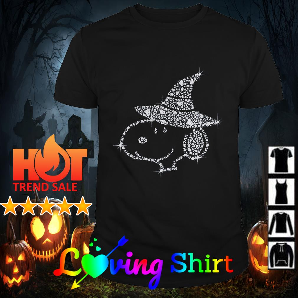 Diamond Snoopy Happy Halloween shirt