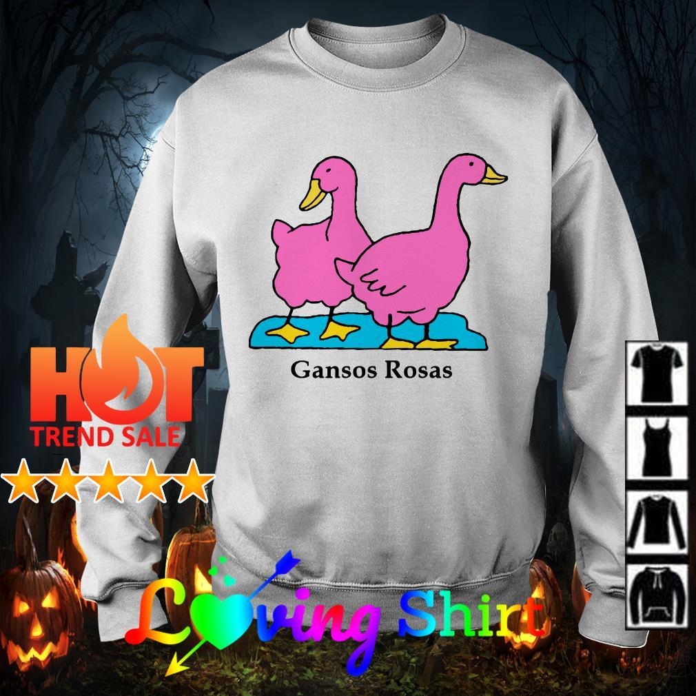 Ducks gansos rosas shirt
