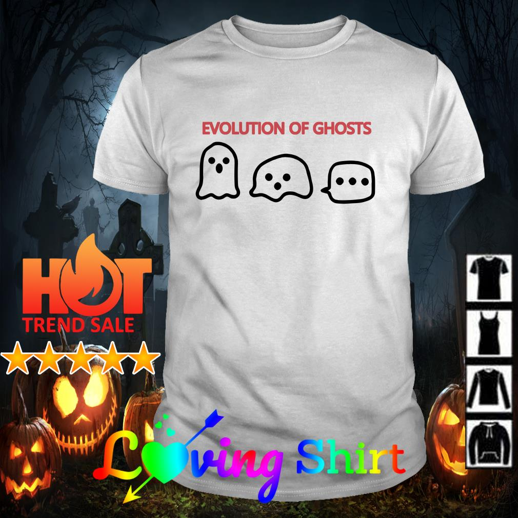 Evolution of ghosts shirt
