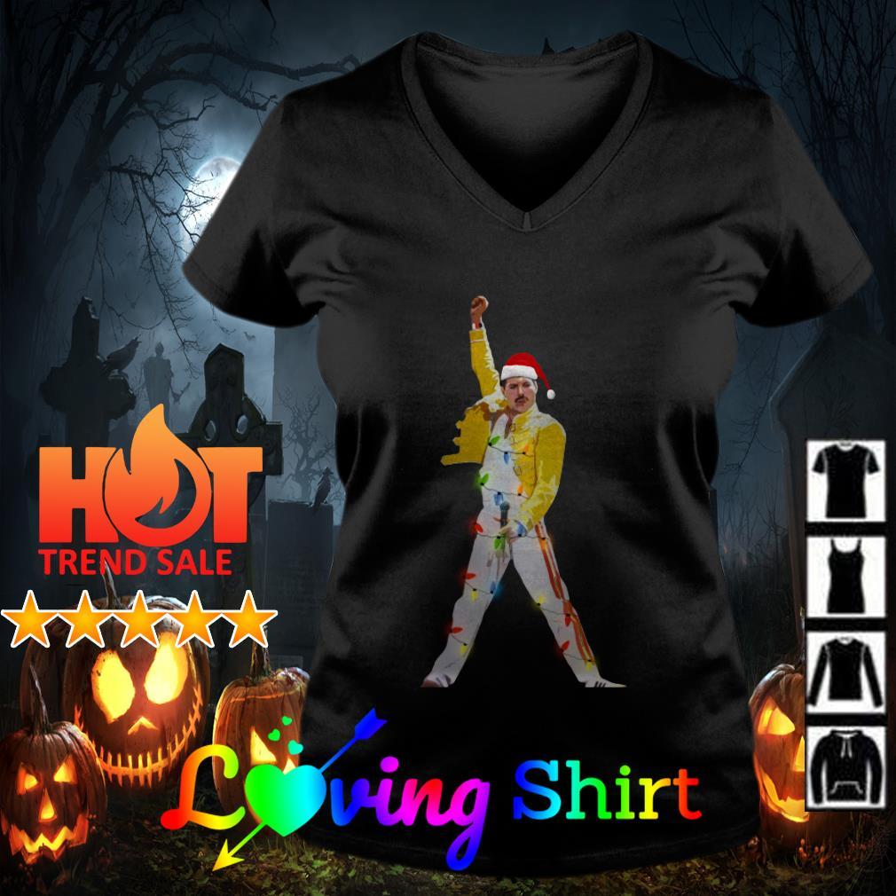 Freddie Mercury Xmas Christmas shirt