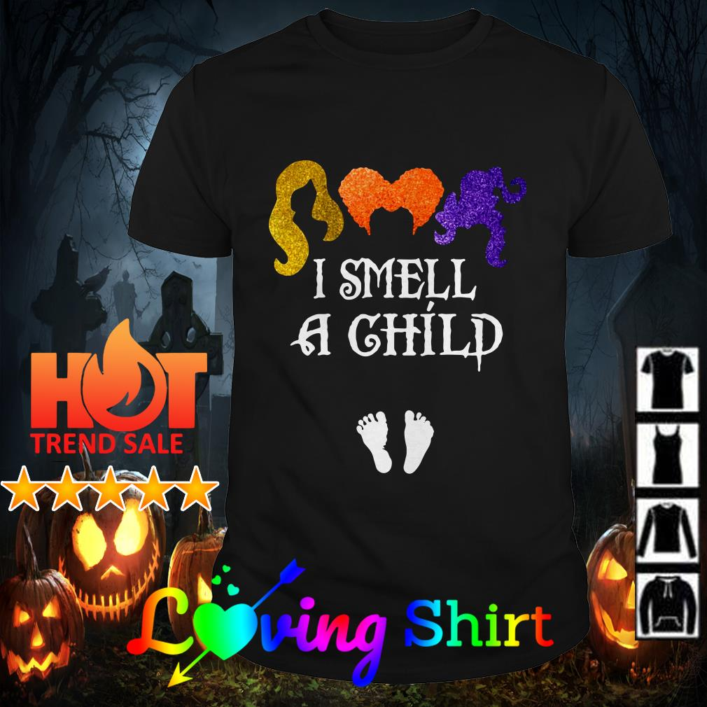 Hocus Pocus I smell a child shirt